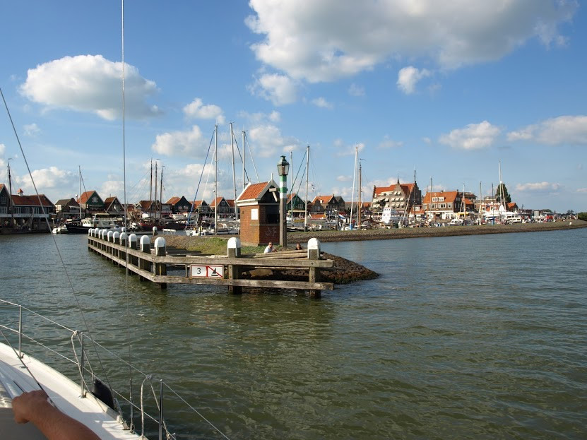 Yacht harbour Volendam