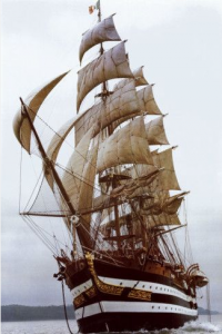 Why sail - tall ship