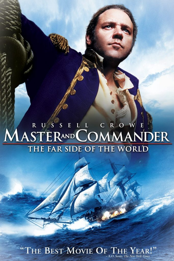 Films over zeilen - Master and Commander