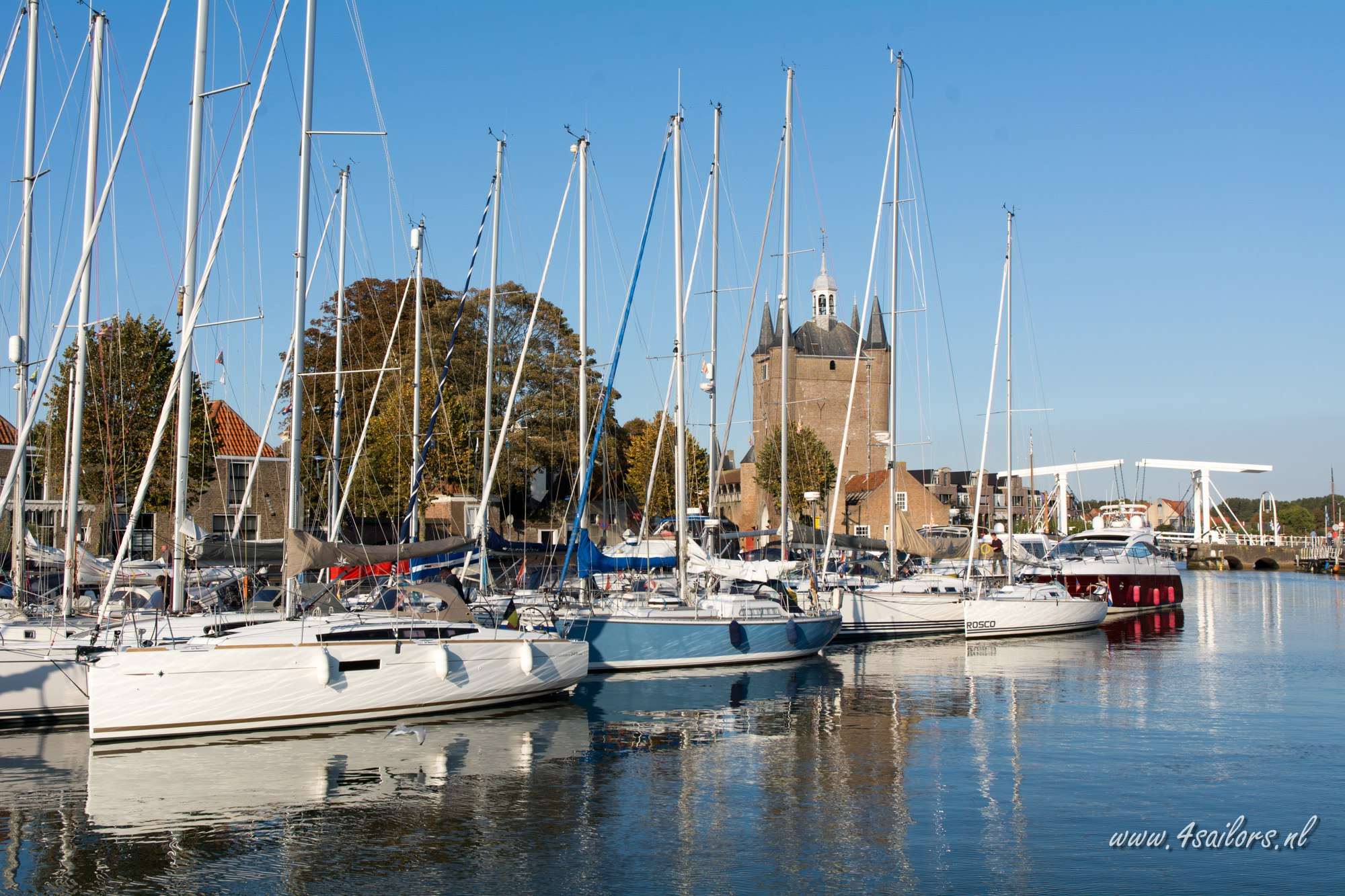 Yacht harbour Zierikzee